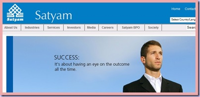 satyam success