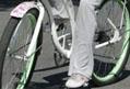 superstar on bike