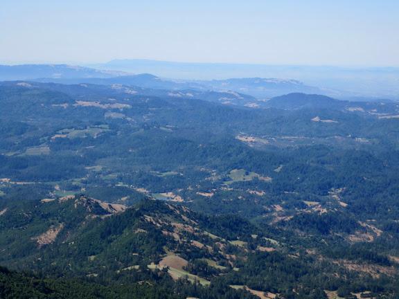 View to Mount Tamalpais