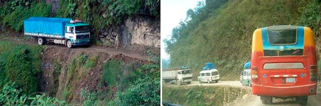 Carreteras mas peligrosas del mundo