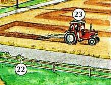 22. valla 23. tractor