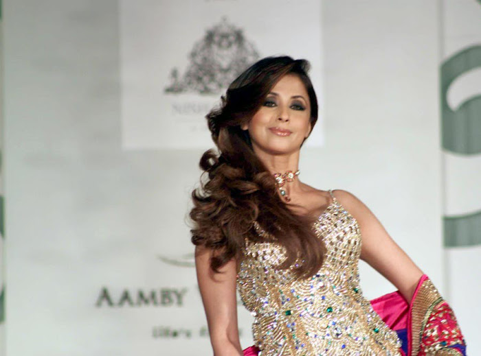 urmila matondkar rfor bridal fashion week photo gallery