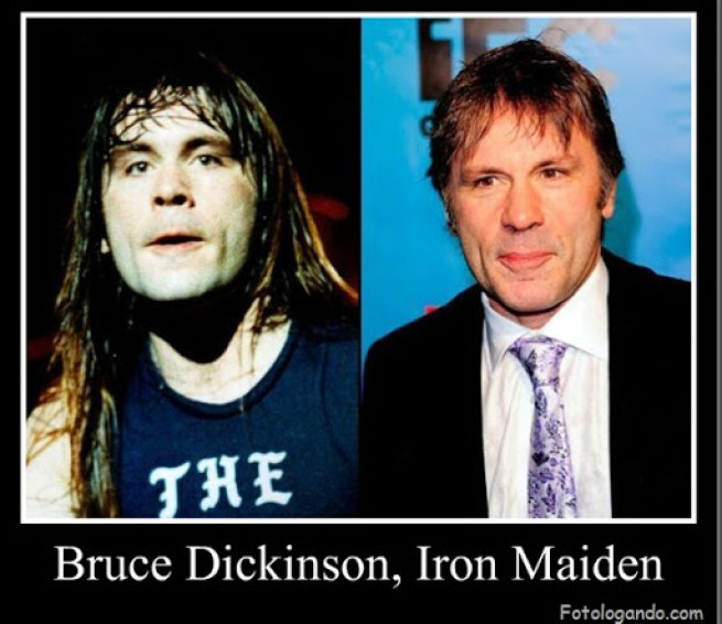 Bruce Dickinson, Iron Maiden