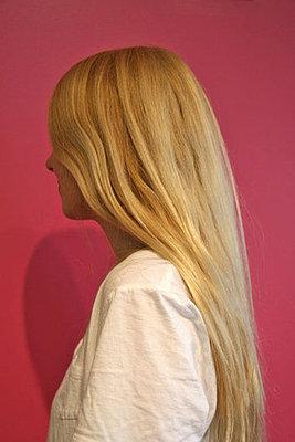 cabelo loiro amarelado
