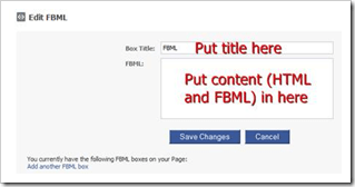 add content in editor