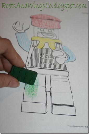 Lego crayons 4