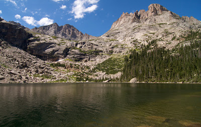 Black Lake, McHenry's peak, and Arrowhead