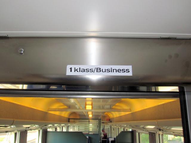 Här är det Business Class som gäller