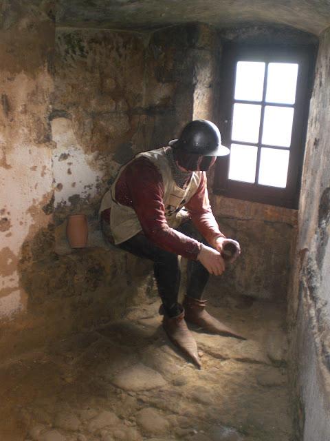 חדר השומרים בטירה
