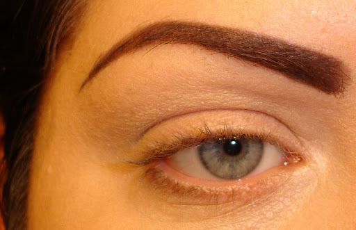 My arched eyebrow