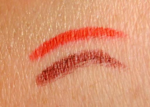 Benefit Cosmetics Gypsy Liner and Elizabeth Arden Red 01 Lip Liner