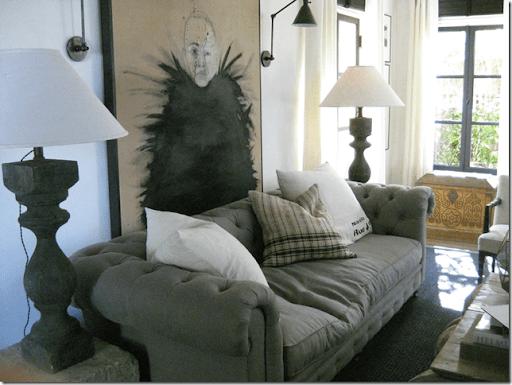 Elle Decor Showhouse Gary Spain Living Room