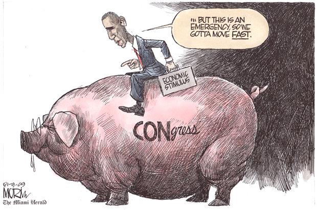 אובמה מנסה להניע את הקונגרס