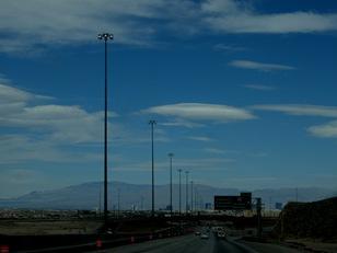 toward Las Vegas