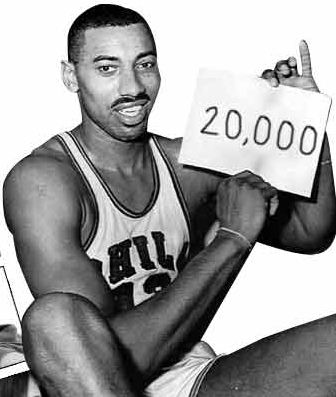 Image result for wilt chamberlain 20,000