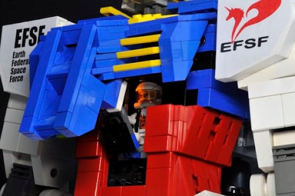 Gundam Lego Piloto