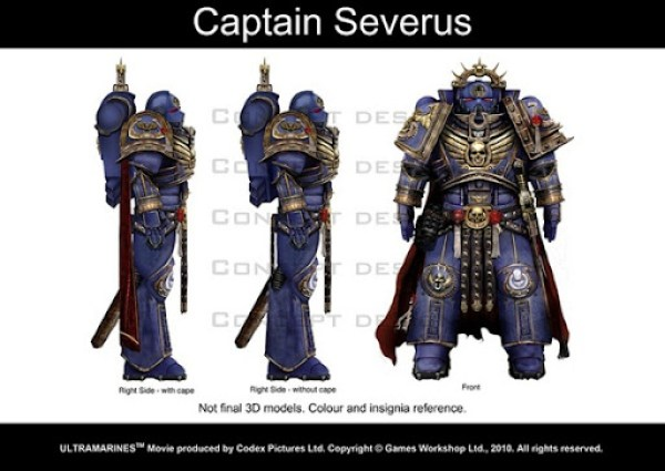Ultramarines Captain Severus