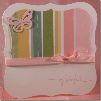 butterfly grateful card