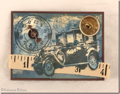 blue car holtz ATC
