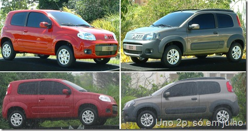 nOVO FIAT UNO 2P ATTRACTIVE E WAY