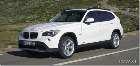 2010 BMW X1 SUV 6