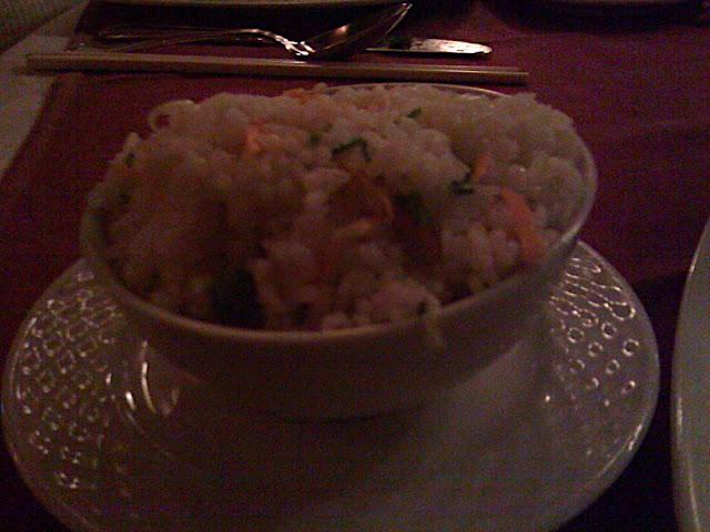 الأرز مع الخضروات