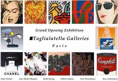 Galerie Taglialatella Paris Pop Picasso