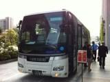 宮城行のボランティアバス