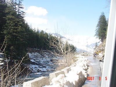 During the trip to Solang Valley