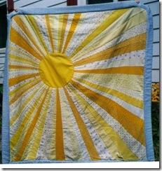 Sunshine quilt