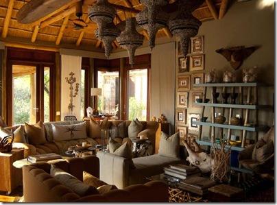 Interieur Design Moderne La Dco Africaine Le Voyage