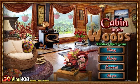 Cabin in Woods - Hidden Object screenshot 09