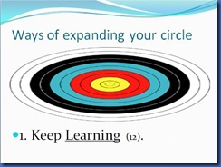 Expanding Your Circle 5