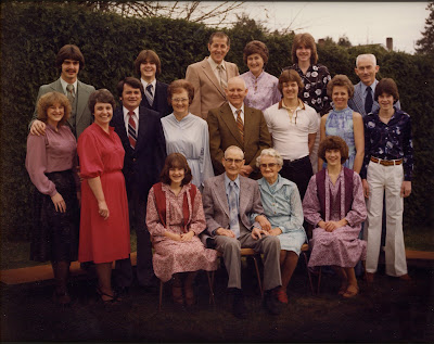 This is the extended Walter Family, c.1979