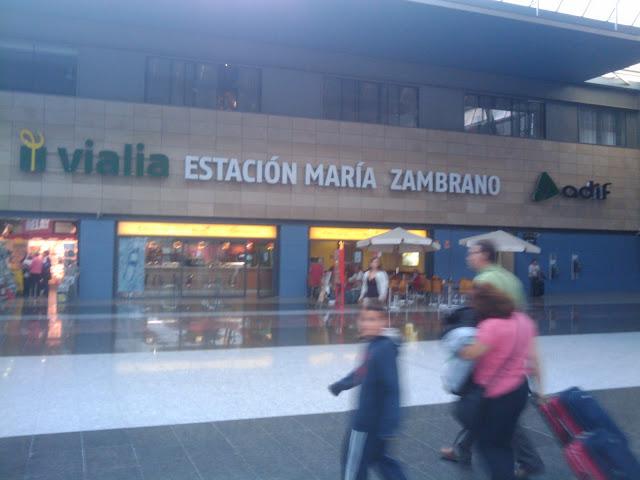 Estación de trenes de Málaga - ZAMBRANO