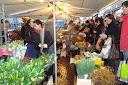 flores mercado Leiden