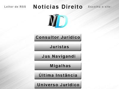 Notícias Direito screenshot 2