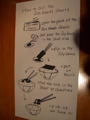 como comer arroz