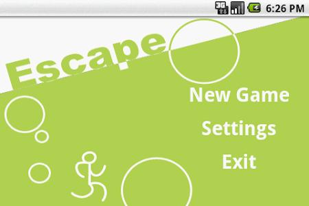 Escape screenshot 0