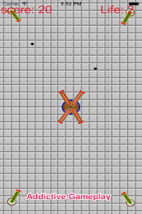 Crash Cannon Ball Shooting War screenshot 0