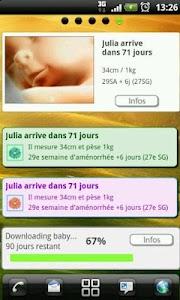 Suivi de grossesse - Donation screenshot 1