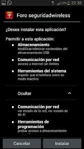 Foro seguridadwireless screenshot 0