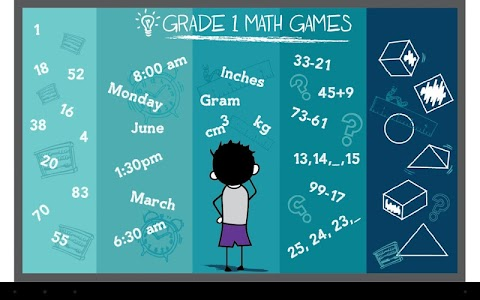Grade 1 Math Games Free screenshot 0