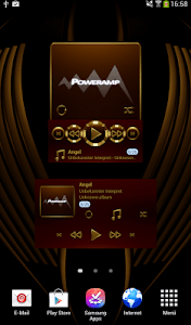 HAMOND Poweramp widget pack screenshot 0