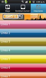 metroDF Realidad Aumentada screenshot 3