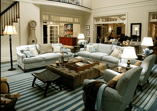 Living Room from Something's Gotta Give via CoteDeTexas