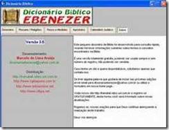 Dicionário Bíblico Ebenezer