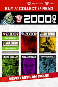 2000 AD Comics and Judge Dredd screenshot 14
