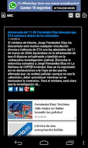 Breaking News Noticias España screenshot 4