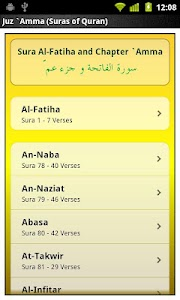 Juz Amma (Suras of Quran) screenshot 0